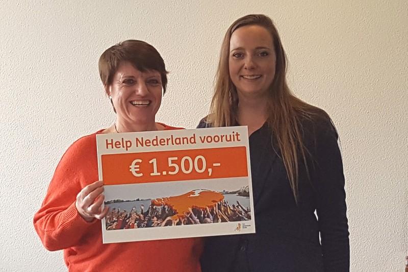 """""""Help Nederland Vooruit"""" actie van de ING! Berend Botje valt in de prijzen!"""