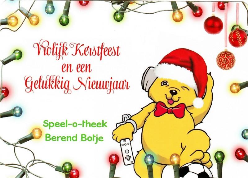 Gezellige kerstdagen en een goed Nieuw Jaar!